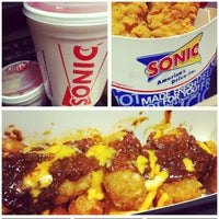 Photo taken at SONIC Drive In by Jaime D. on 9/30/2013