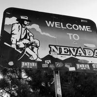 Photo taken at Welcome To Nevada! by Aree A. on 6/14/2014