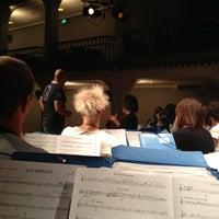 Photo taken at Teatro comunale Aldeno by Valentina S. on 9/16/2013