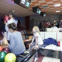 Photo taken at Bowling Castelletto Ticino by mikkel d. on 10/12/2013