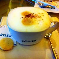 Photo taken at EXCELSO Café by Marvin D. on 3/9/2013