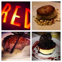 Photo taken at Red the Steakhouse by Esteicy on 8/20/2013