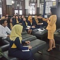 Photo taken at Bank Mandiri KC Balai Kota by Shinta A. on 8/9/2016
