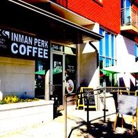 Photo taken at Inman Perk Coffee by Intown Expert, Jennifer Kjellgren & Associates on 1/31/2013