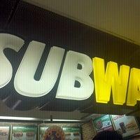 Photo taken at Subway by Cris O. on 10/26/2012
