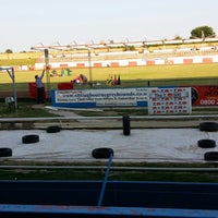 Photo taken at Sittingbourne Greyhounds by Mike ⚽⚽ on 6/23/2014