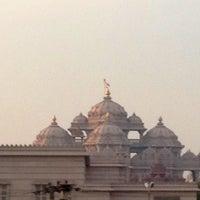 Photo taken at Swaminarayan Akshardham by Luke D. on 2/13/2013