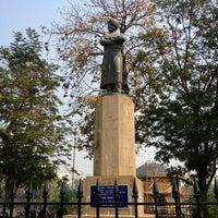 Photo taken at Swami Vivekananda Monument by Luke D. on 2/11/2013