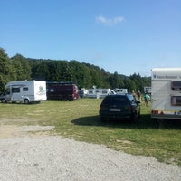 Photo taken at vilnius city camping by Juan Pablo A. on 7/7/2013