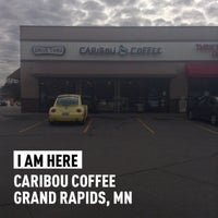 Photo taken at Caribou Coffee by Mark S. on 5/3/2014