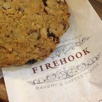 Photo taken at Firehook Bakery by Andrea J. on 8/3/2014