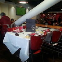 Photo taken at Manchester United Red Café by Ahmad R. on 5/5/2013