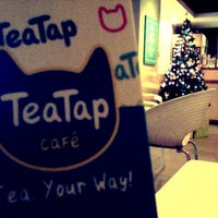 Photo taken at TeaTap Cafe by Cathy T. on 12/13/2012