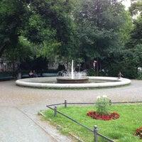 Das Foto wurde bei Ludwigkirchplatz von Dong-ho S. am 6/30/2013 aufgenommen