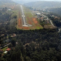 Photo taken at Juiz de Fora Airport / Serrinha (JDF) by Esperidião S. on 5/3/2013