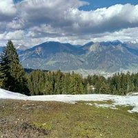 Photo taken at alpe rona by J-P on 4/16/2014