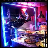 Photo taken at O Pedaço da Pizza by Satoru S. on 2/23/2013
