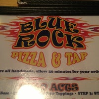 Photo taken at Blue Rock Pizza &Tap by Brian C. on 12/29/2012