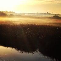 Photo taken at Powderhorn Lake by Tracy V. on 1/20/2013
