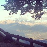 Photo taken at San Lorenzo Mountain Lodge by Fabio C. on 10/3/2014