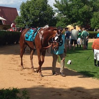 Photo taken at Canterbury Park by Todd M. on 6/20/2015