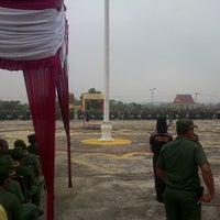 Photo taken at Lapangan Upacara Kantor Bupati by syawal n. on 2/10/2014