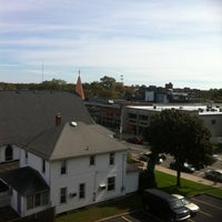 Photo taken at Patchogue, NY by Adem Ö. on 10/17/2012