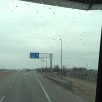 Photo taken at Farm Land Rest Area - Westbound by Jeff S. on 1/27/2013