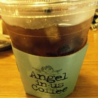 Photo taken at Angel-in-us Coffee by MinSung K. on 10/1/2012