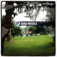 Photo taken at Bina Musika Camp Chevron Duri by Niken P. on 3/20/2013
