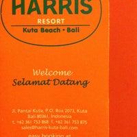 Photo taken at Harris Resort by Niken P. on 1/11/2013