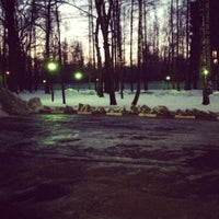 Photo taken at Богатырский мост by Luna W. on 12/12/2012