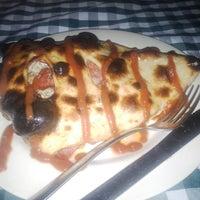 Photo taken at Brick Oven Alona-Pizza by Donzkie V. on 6/13/2013