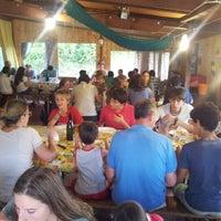 Photo taken at La Romola by Alessandro V. on 8/14/2013