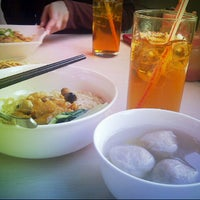 Photo taken at Bakmi GM by @mhoejha H. on 3/17/2013