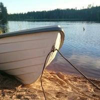Photo taken at Jäppilänniemi by Лена . on 8/30/2015