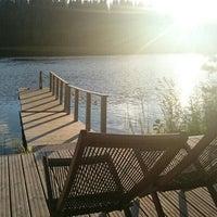 Photo taken at Jäppilänniemi by Лена . on 8/29/2015