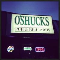 Photo taken at O'Shucks Pub & Billiards by Troy M. on 6/24/2013
