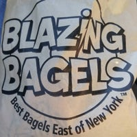 Photo taken at Blazing Bagels by Howie C. on 11/28/2015