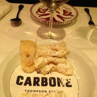 Photo taken at Carbone by Noah V. on 6/25/2013