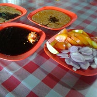 Photo taken at Sate Kambing Sari Sedap by wramd on 10/20/2012