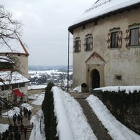 Photo taken at Blejski Grad | Bled Castle by No Place To Be on 2/17/2013