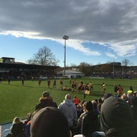 """Photo taken at Stadionul Național de Rugby """"Arcul de Triumf"""" by No Place To Be on 3/19/2017"""