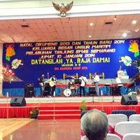 Photo taken at Politeknik Ilmu Pelayaran (PIP) Semarang by Dwi C. on 1/10/2014