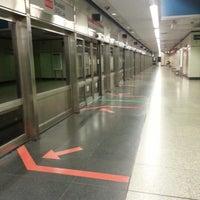 Photo taken at Braddell MRT Station (NS18) by Ella P. on 3/26/2013