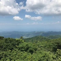Photo taken at 八溝山頂 by elly on 7/2/2018