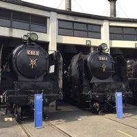 Photo taken at Umekoji Steam Locomotive Museum by elly on 8/12/2015