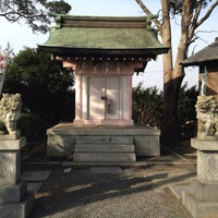 Photo taken at 愛知用水神社 by elly on 1/25/2015