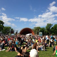 Photo taken at DCR Hatch Memorial Shell by Kimberly F. on 5/18/2013