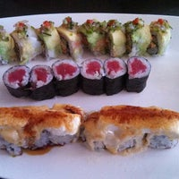 Photo taken at Tomodachi Sushi by David S. on 3/23/2013